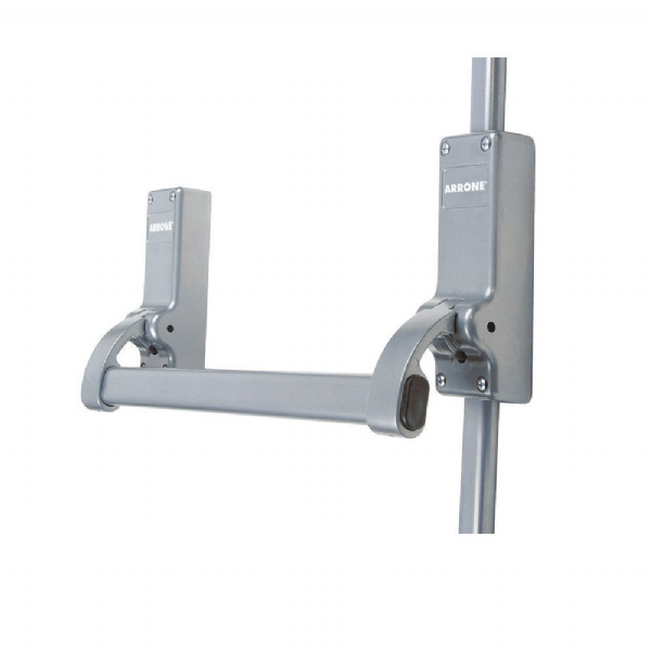 Arrone® Single Door Panic Bolt - Silver - AR880